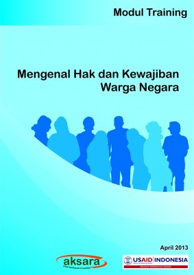 Modul Mengenal Hak dan kewajiban warga negara
