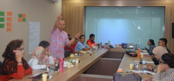 Pelatihan AKC48J di Pusdalops BPBD DKI Jakarta