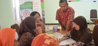 Diskusi Kewirausahaan perempuan di kawasan rawan bencana
