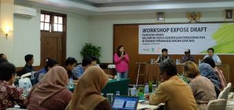 Workshop Penyusunan Panduan Umum Kelompok Kerja Gender dan Penggerak PUG dalam Penanggulangan Bencana