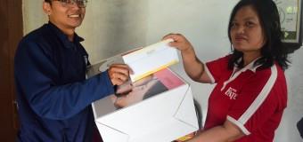 Aksara serahkan Bantuan buat Posyandu Dusun Turgo