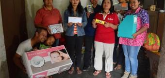 Penyerahan Bantuan untuk Posyandu Dusun Turgo